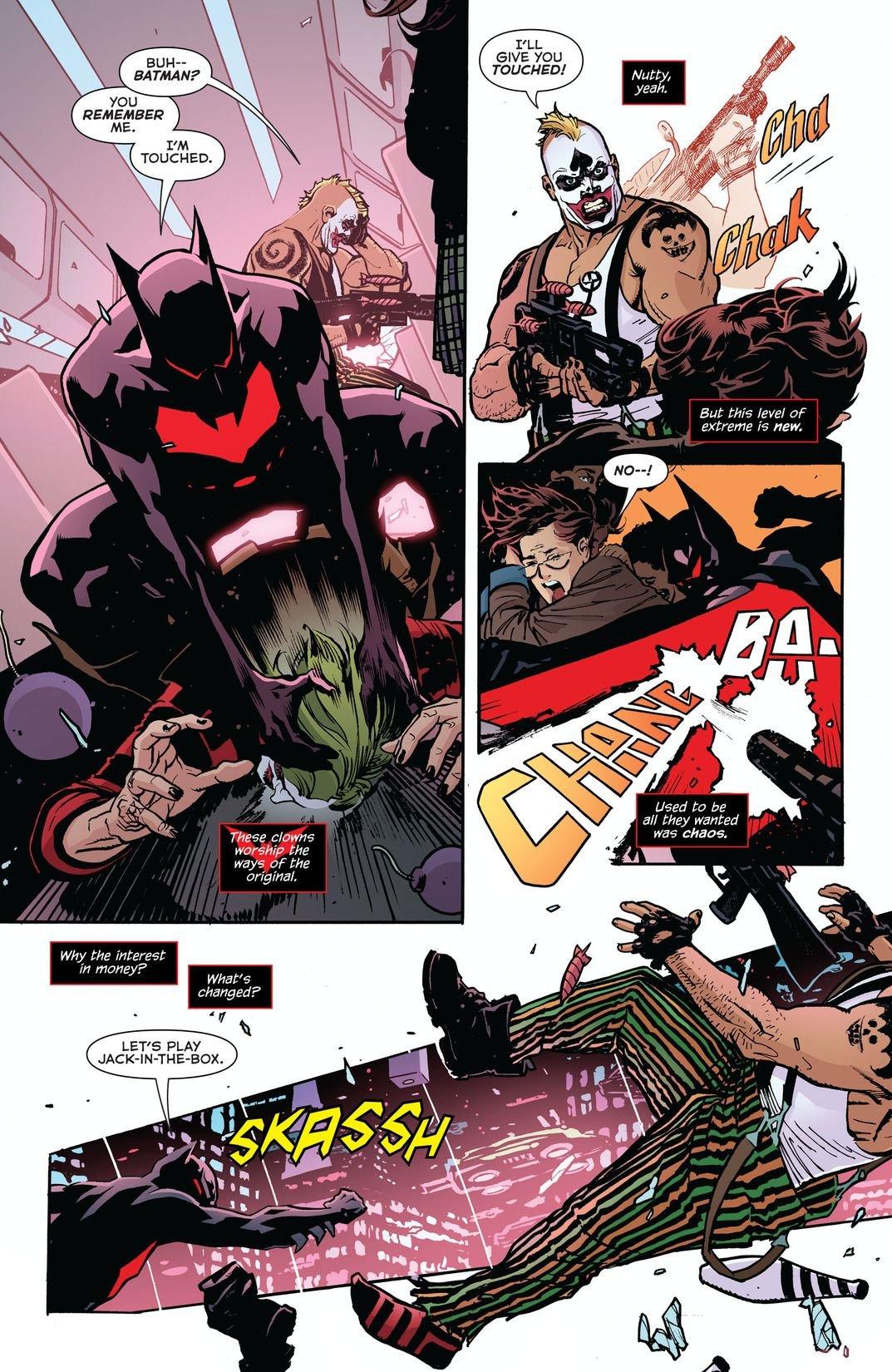Batman Beyond Rebirth #1 (Comic) Review 1