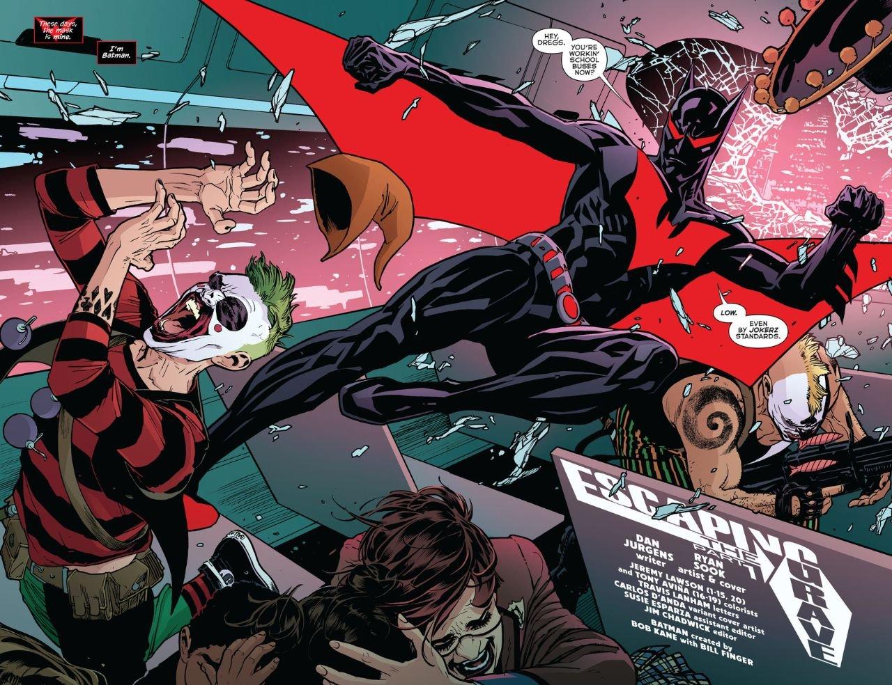 Batman Beyond Rebirth #1 (Comic) Review 2
