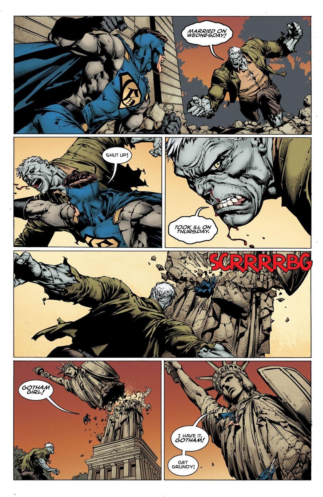 Batman Rebirth: I Am Gotham (Comic) Review 2