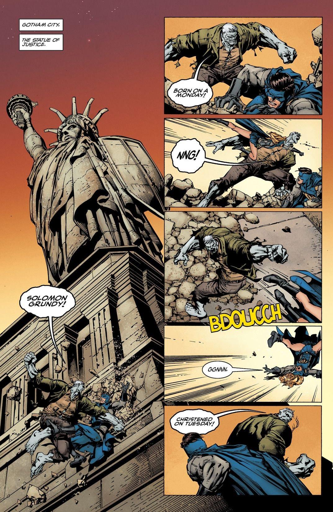 Batman Rebirth: I Am Gotham (Comic) Review