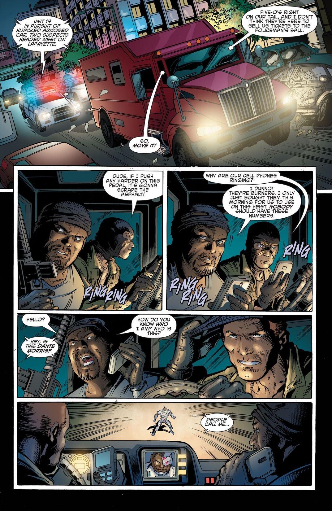Cyborg Rebirth #1 (Comic) Review 1