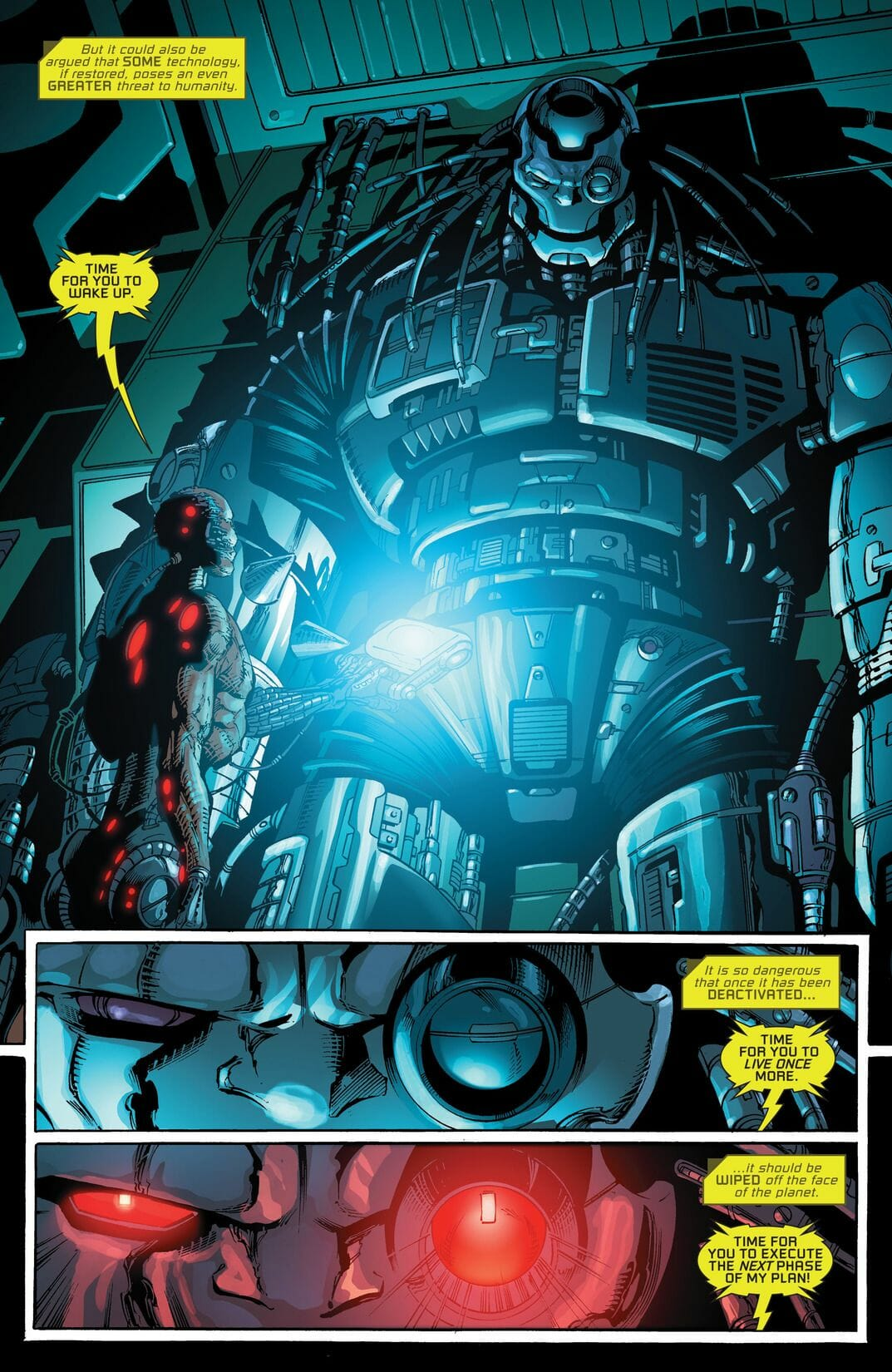 Cyborg Rebirth #1 (Comic) Review 2