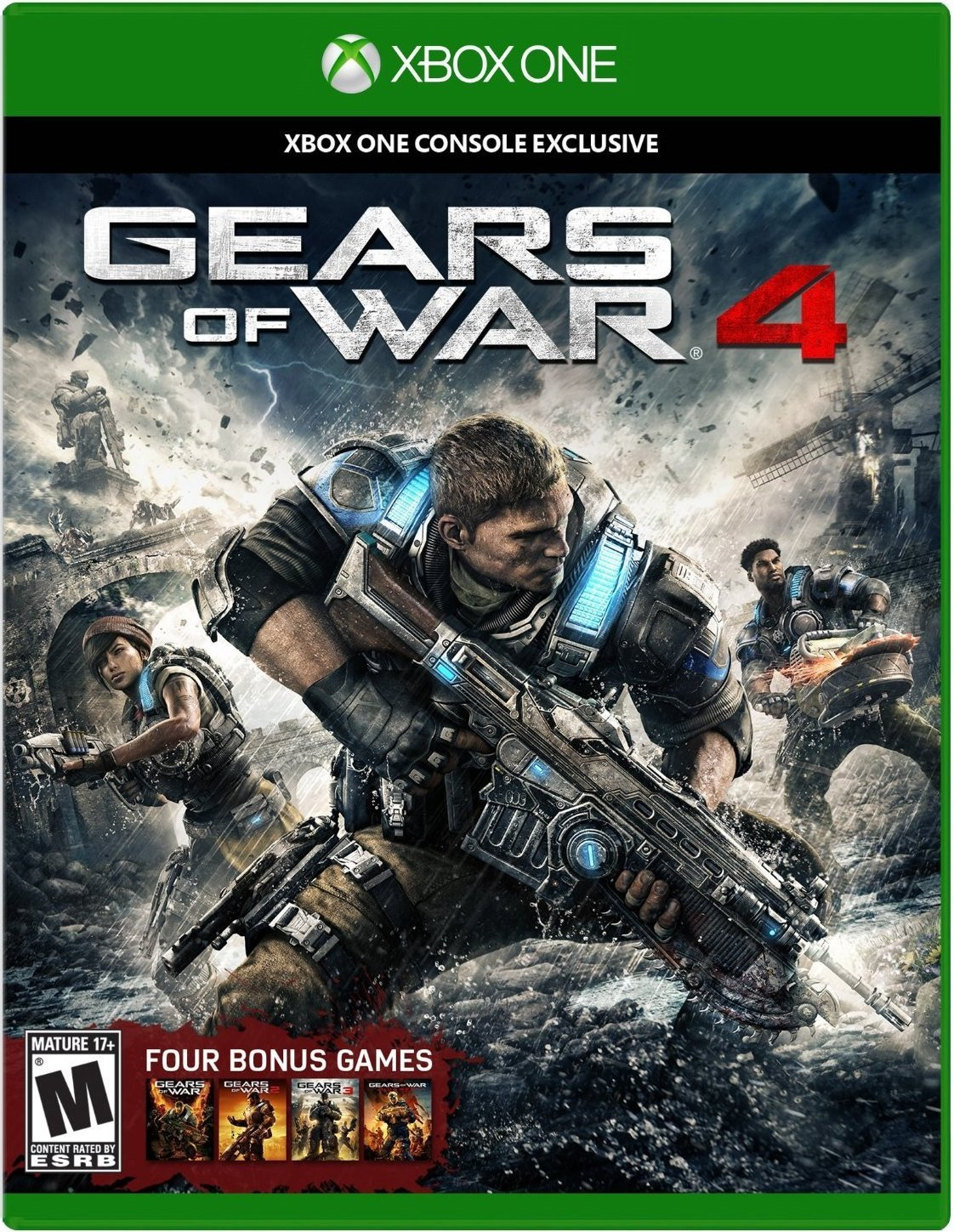 Gears of War 4 (Xbox One) Review 8