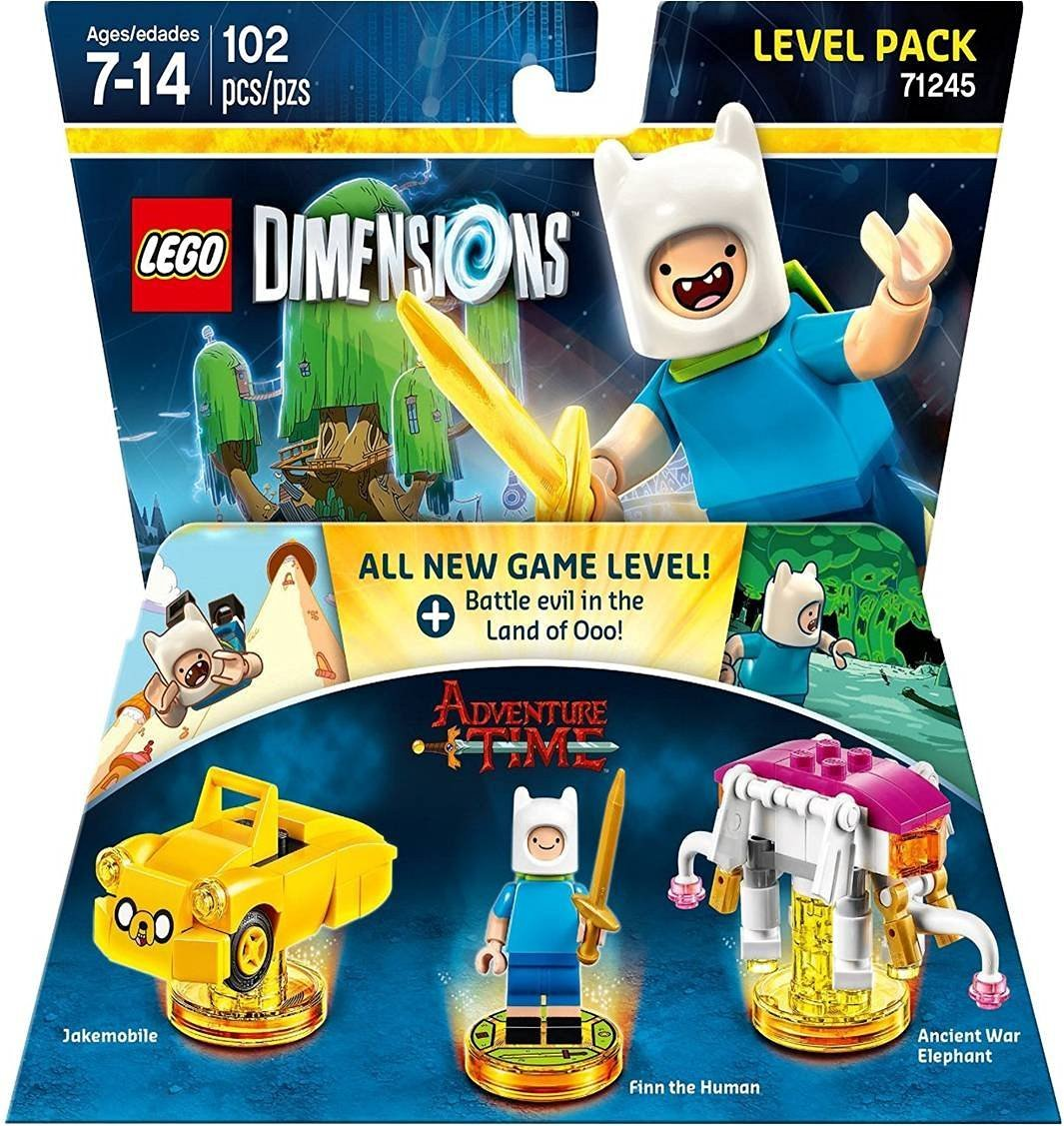 Lego Dimensions Adventure Time Level Pack (PS4) Review