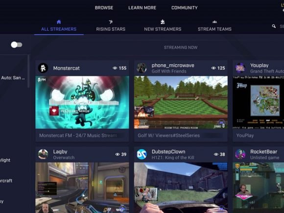 Microsoft Takes Twitch Head-On With Integrated Beam Streaming Service