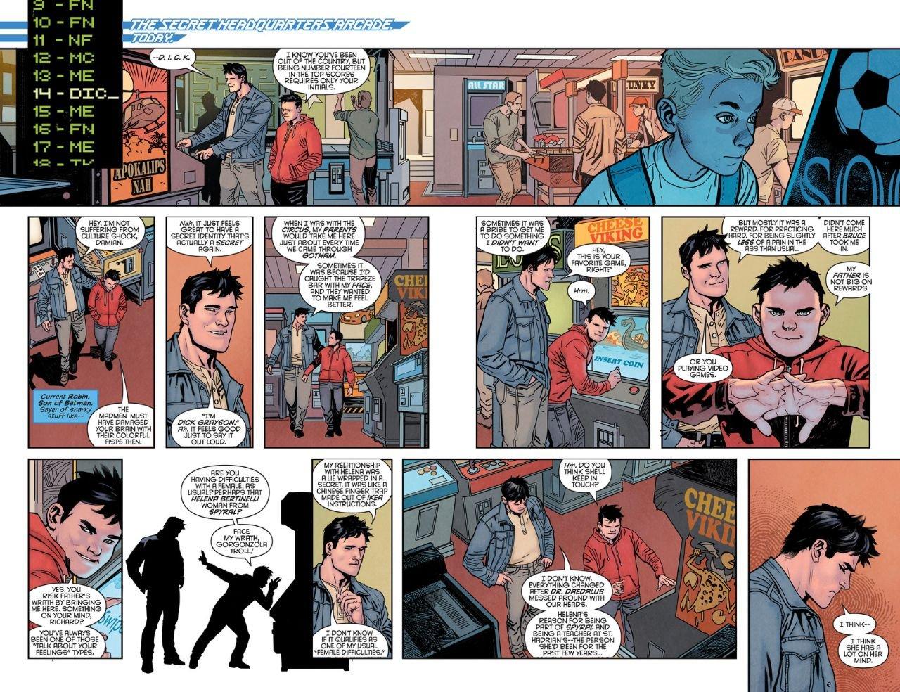 Nightwing Rebirth #1 (Comic) Review 3