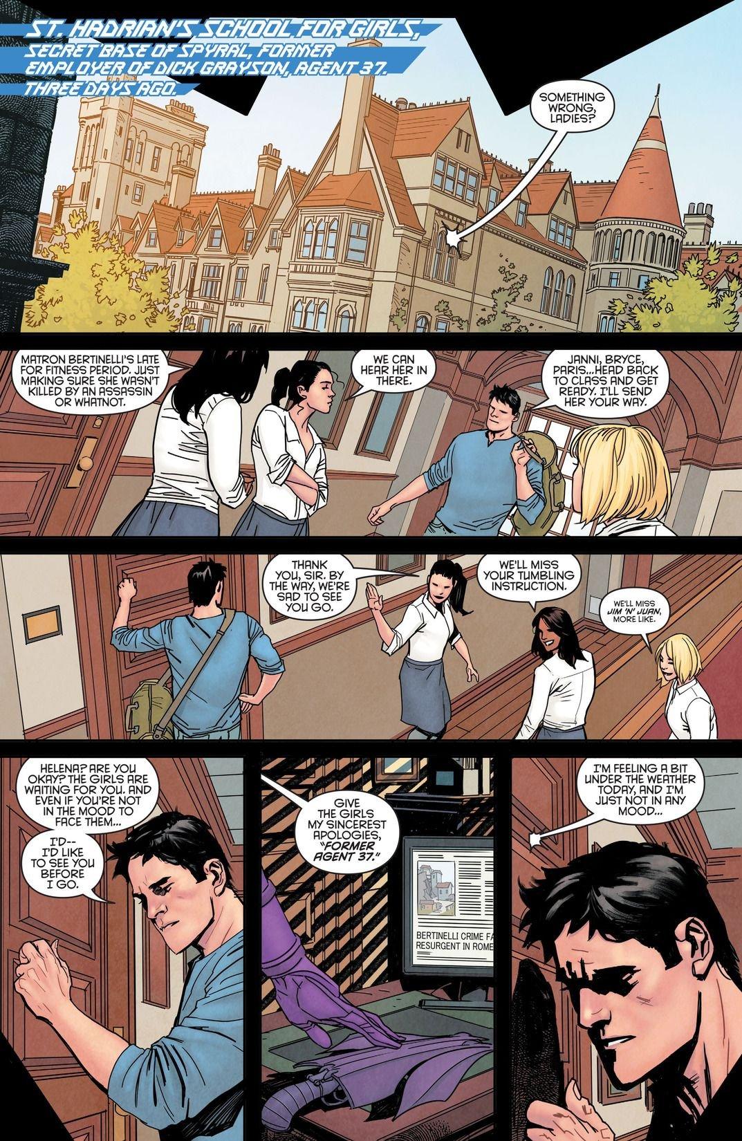 Nightwing Rebirth #1 (Comic) Review 4