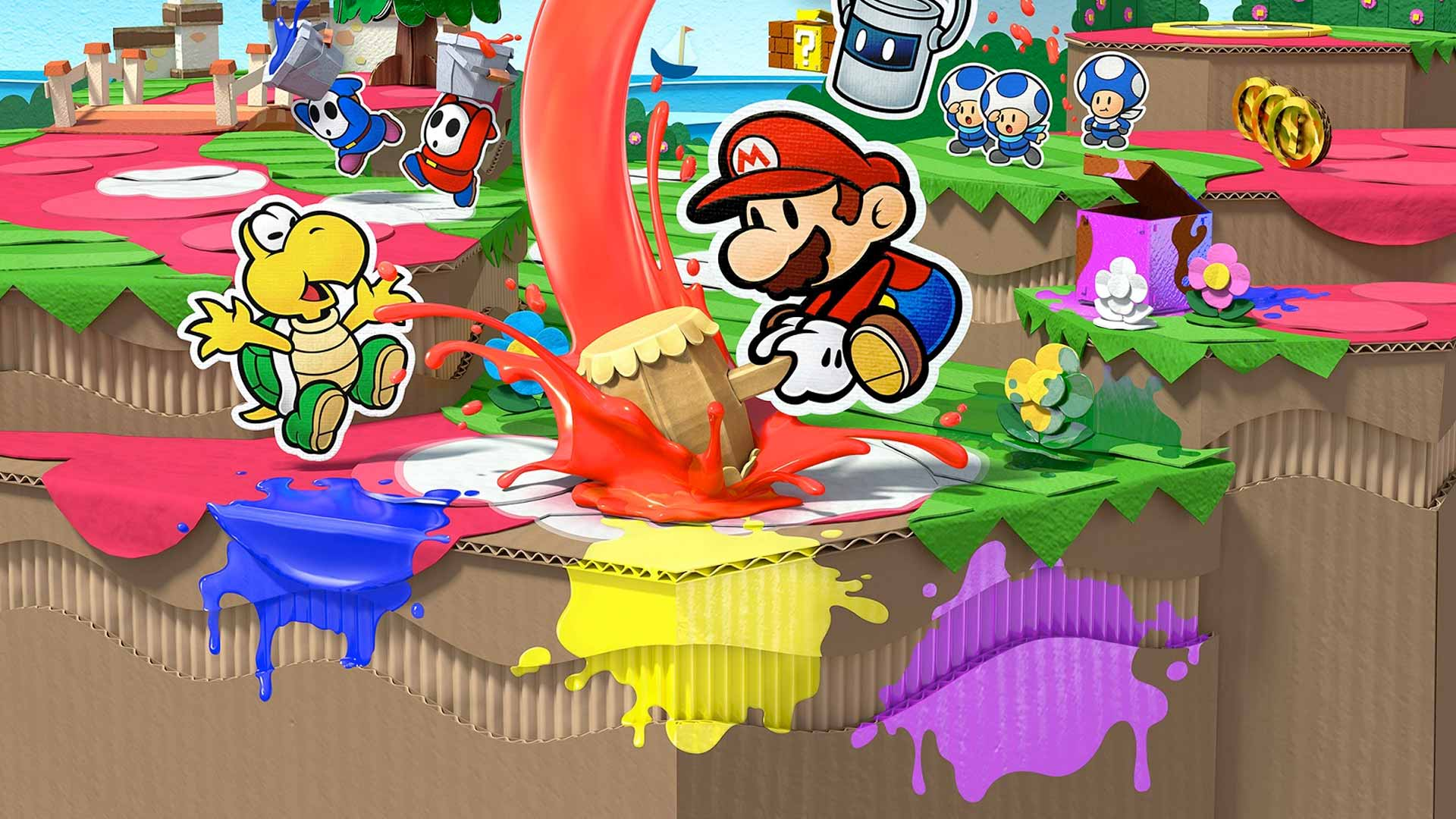 Paper Mario: Color Splash (Wii U) Review 6