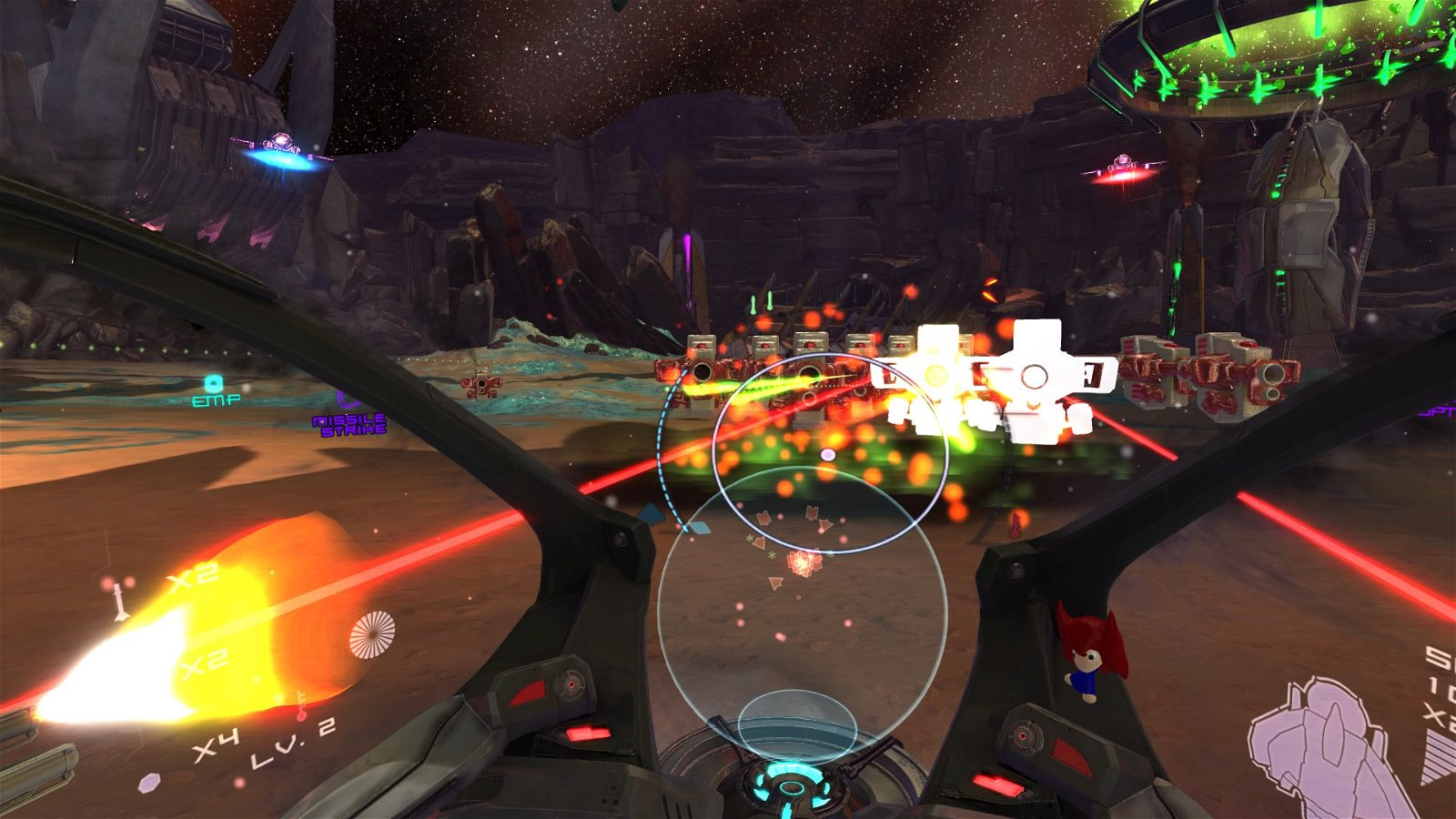 Super Stardust Ultra VR (PS4) Review 9