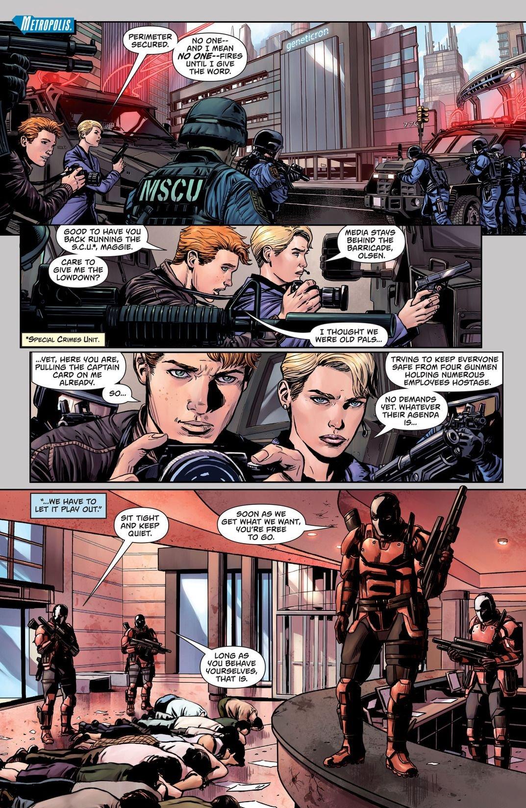 Superman Action Comics: Path Of Doom (Comic) Review 2