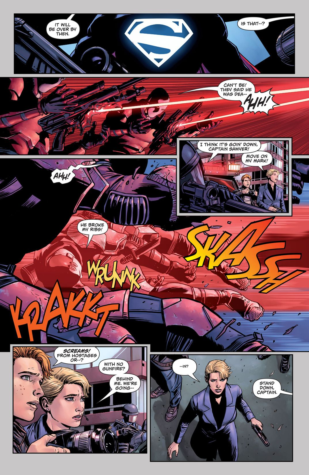 Superman Action Comics: Path Of Doom (Comic) Review 3