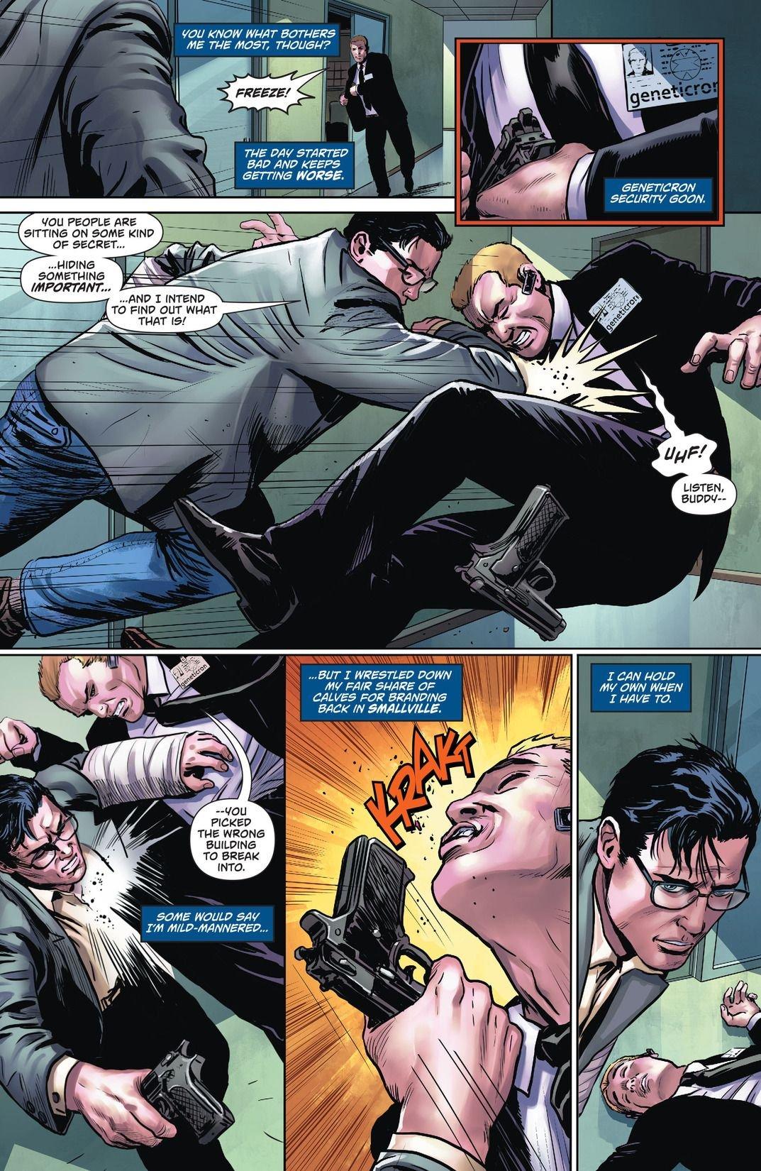 Superman Action Comics Rebirth: Superman Meet Clark Kent (Comic) Review 1