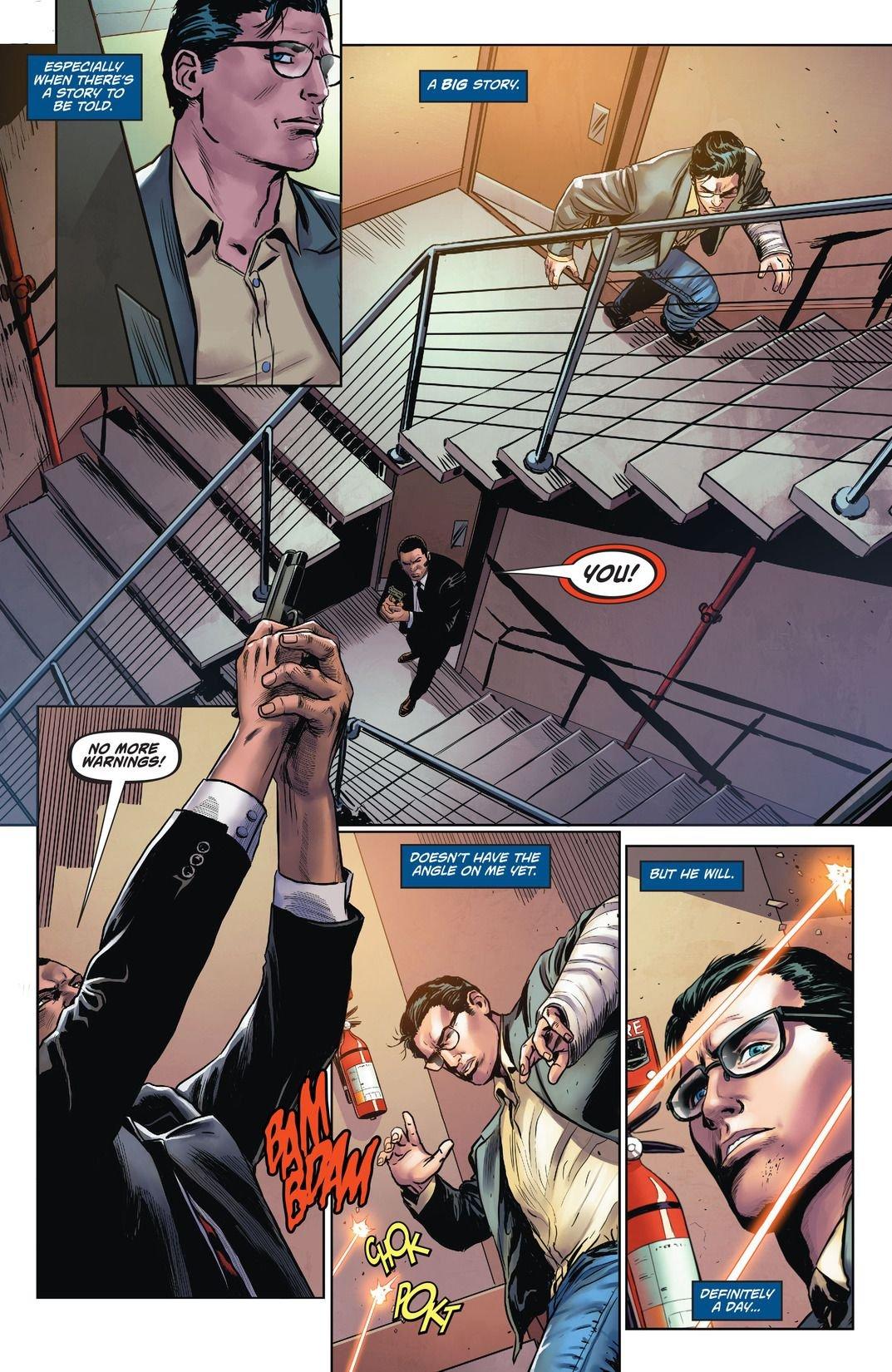 Superman Action Comics Rebirth: Superman Meet Clark Kent (Comic) Review 3
