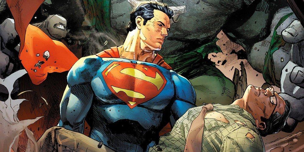 Superman Action Comics Rebirth: Superman Meet Clark Kent (Comic) Review 5