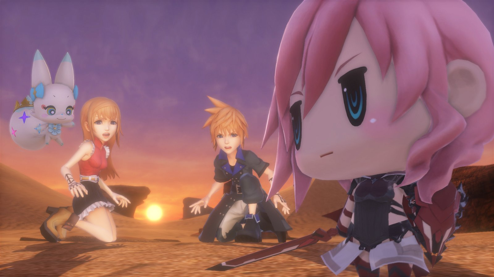 World Of Final Fantasy (Ps4) Review 6