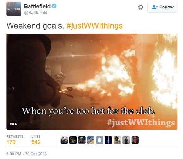 Battlefield 1 Is #Justww1Things 2