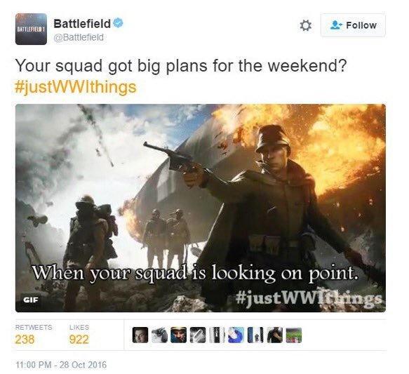 Battlefield 1 is #JustWW1Things 3