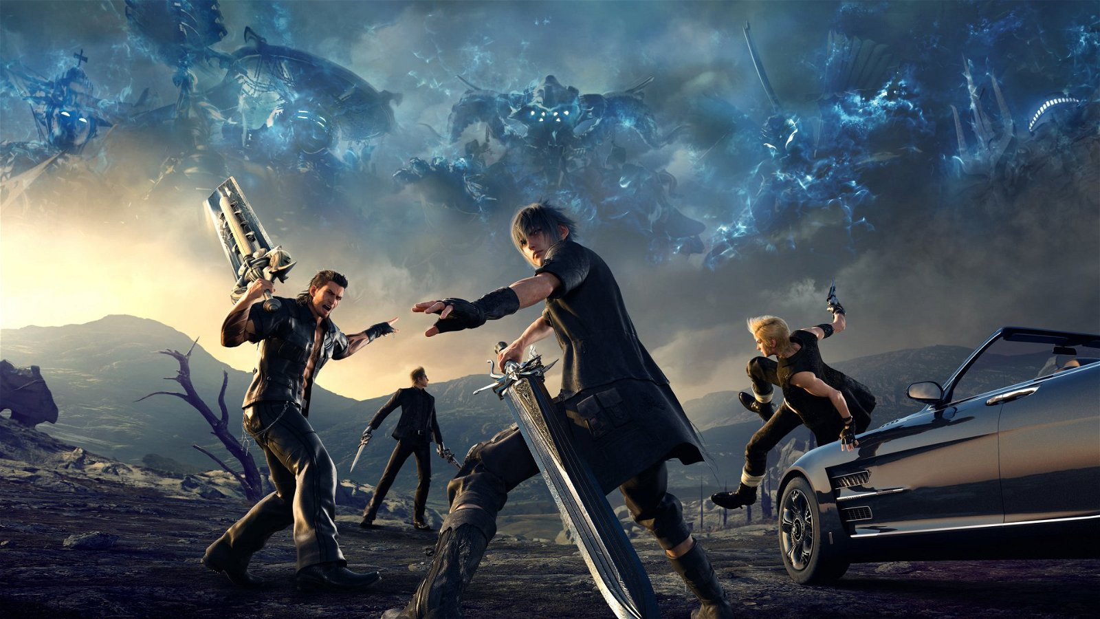 final fantasy xv ps4 review. Black Bedroom Furniture Sets. Home Design Ideas