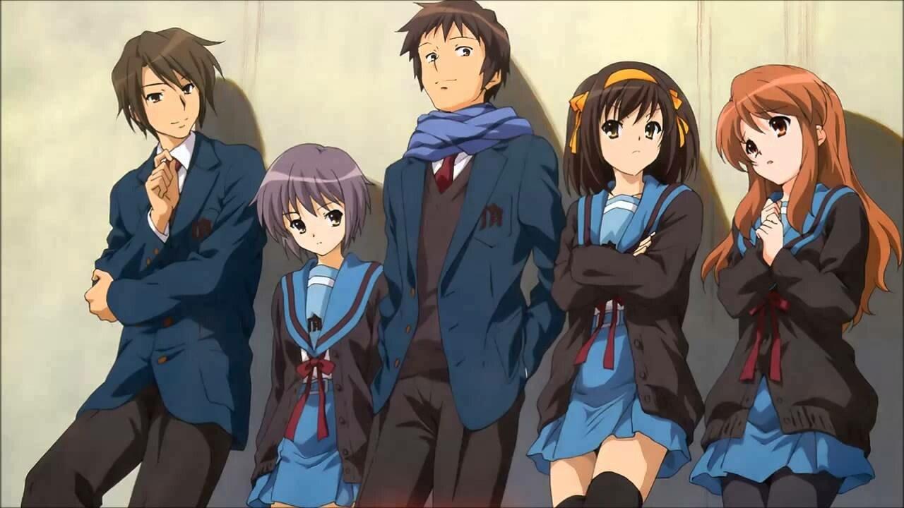 Kết quả hình ảnh cho Melancholy of Haruhi Suzumiya anime