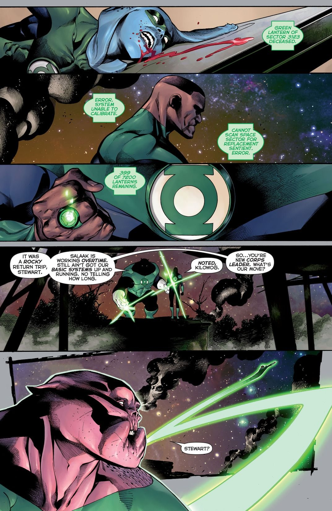 Hal Jordan And The Green Lantern Corps Rebirth: Sinestro's Law (Comic) Review 3