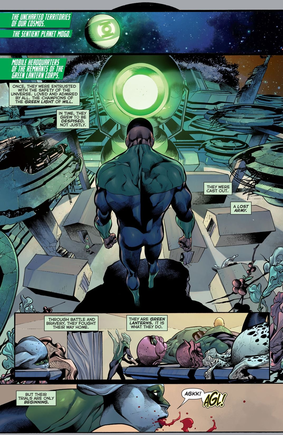 Hal Jordan And The Green Lantern Corps Rebirth: Sinestro's Law (Comic) Review 4