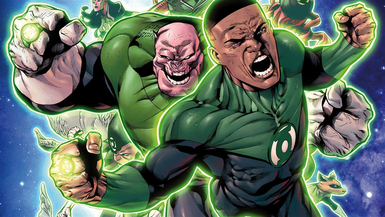 Hal Jordan and the Green Lantern Corps Rebirth: Sinestro's Law (Comic) Review 1