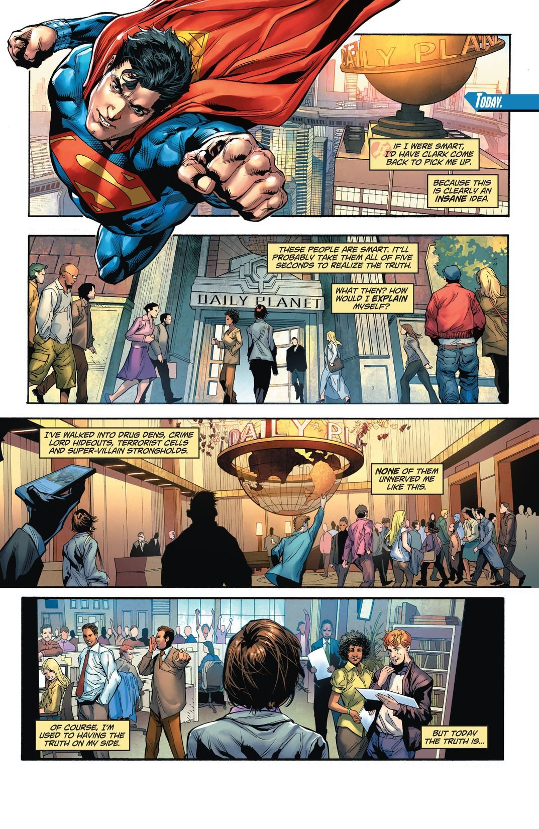 Lois Lane, Back at the Planet (Comic) Review 3