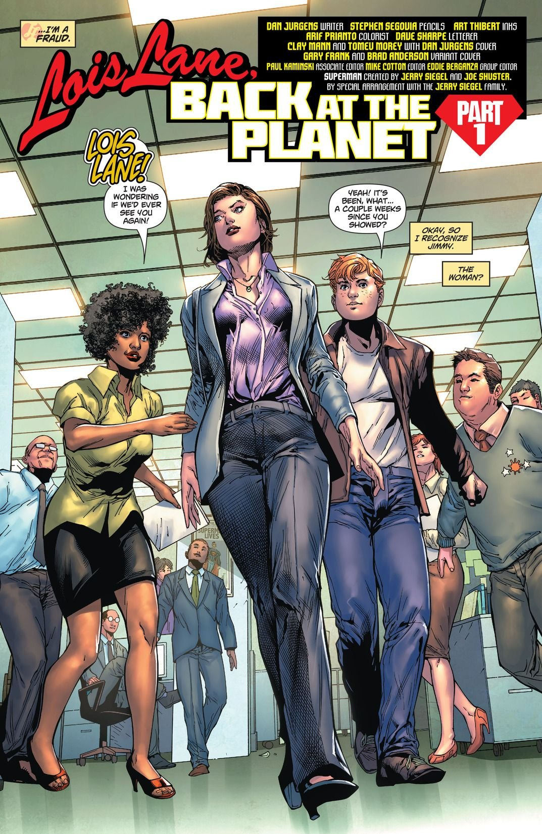 Lois Lane, Back At The Planet (Comic) Review 4