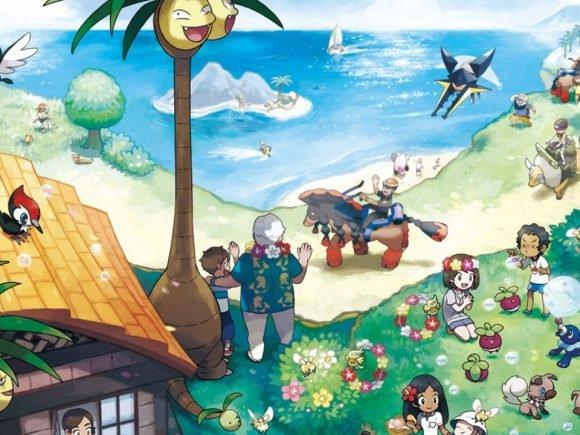 Pokémon Sun and Moon Challenges Trainers to Catch 100 Million Pokémon