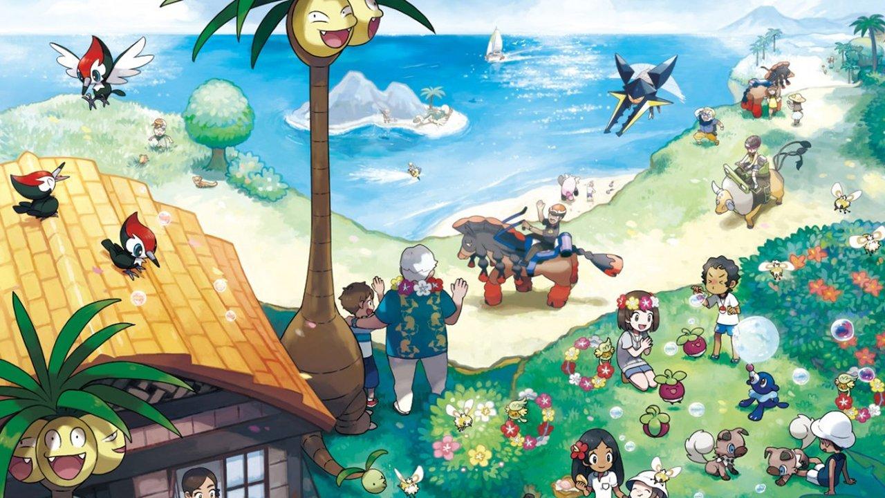 Pokémon Sun and Moon Challenges Trainers to Catch 100 Million Pokémon 1