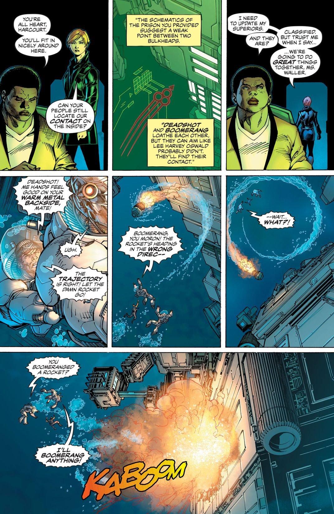 Suicide Squad Rebirth: The Black Vault (Comic) Review 3