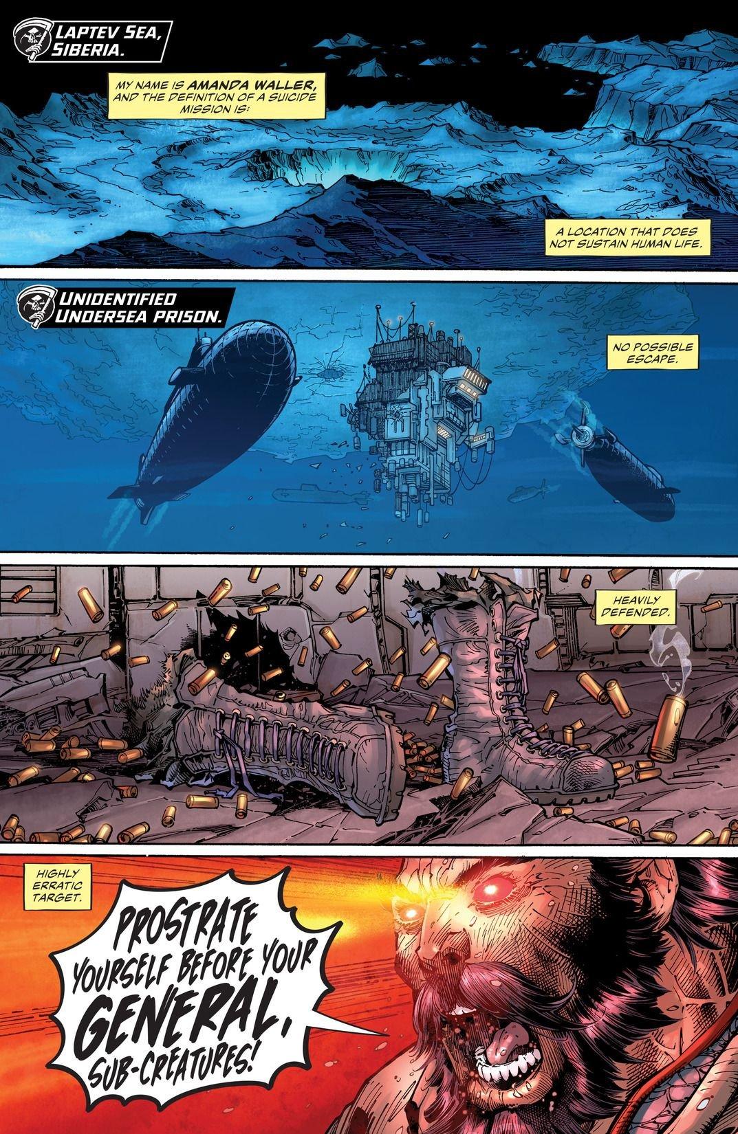 Suicide Squad Rebirth: The Black Vault (Comic) Review 4