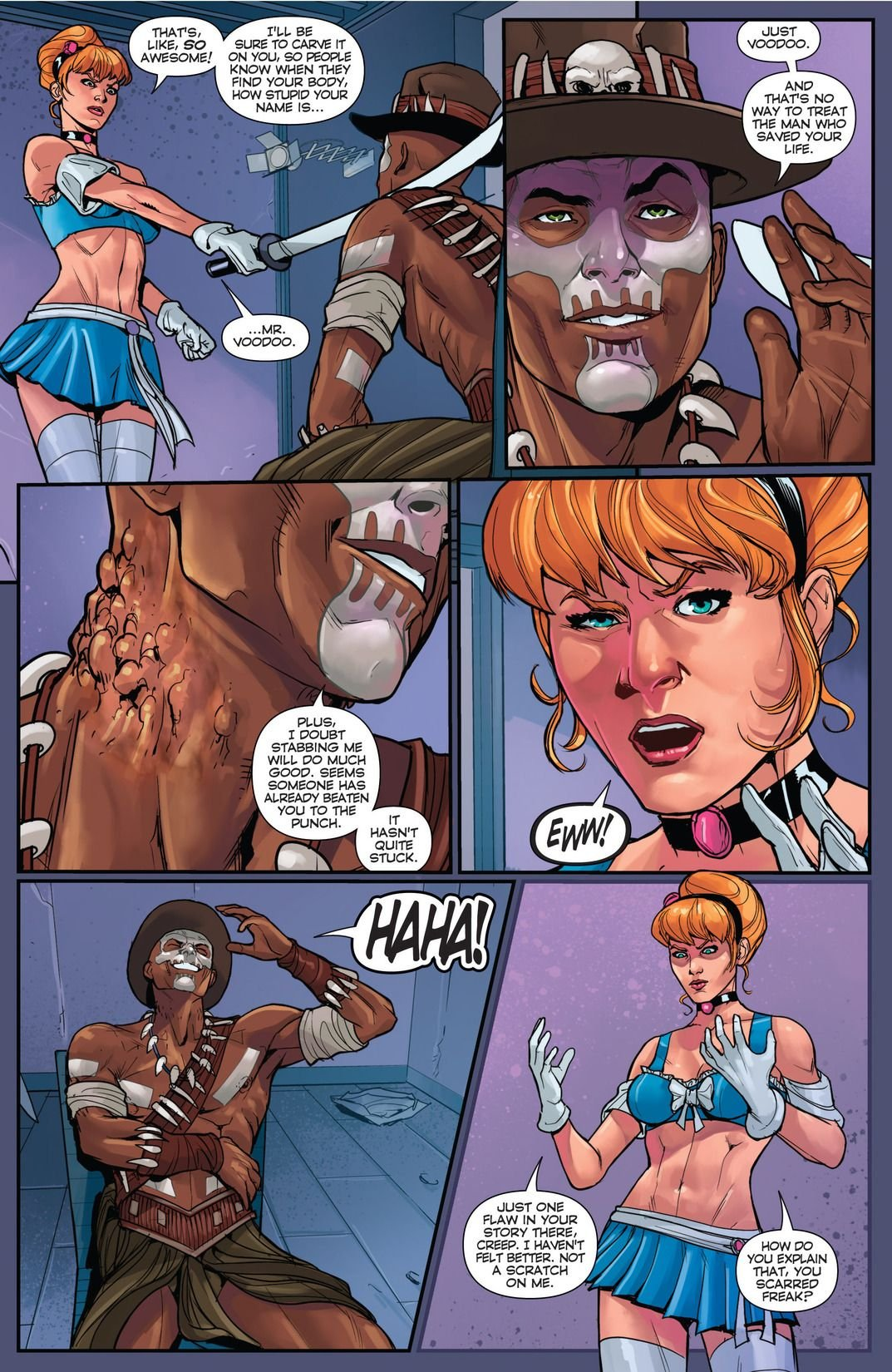 Cinderella Serial Killer Princess #1 (Comic) Review 5