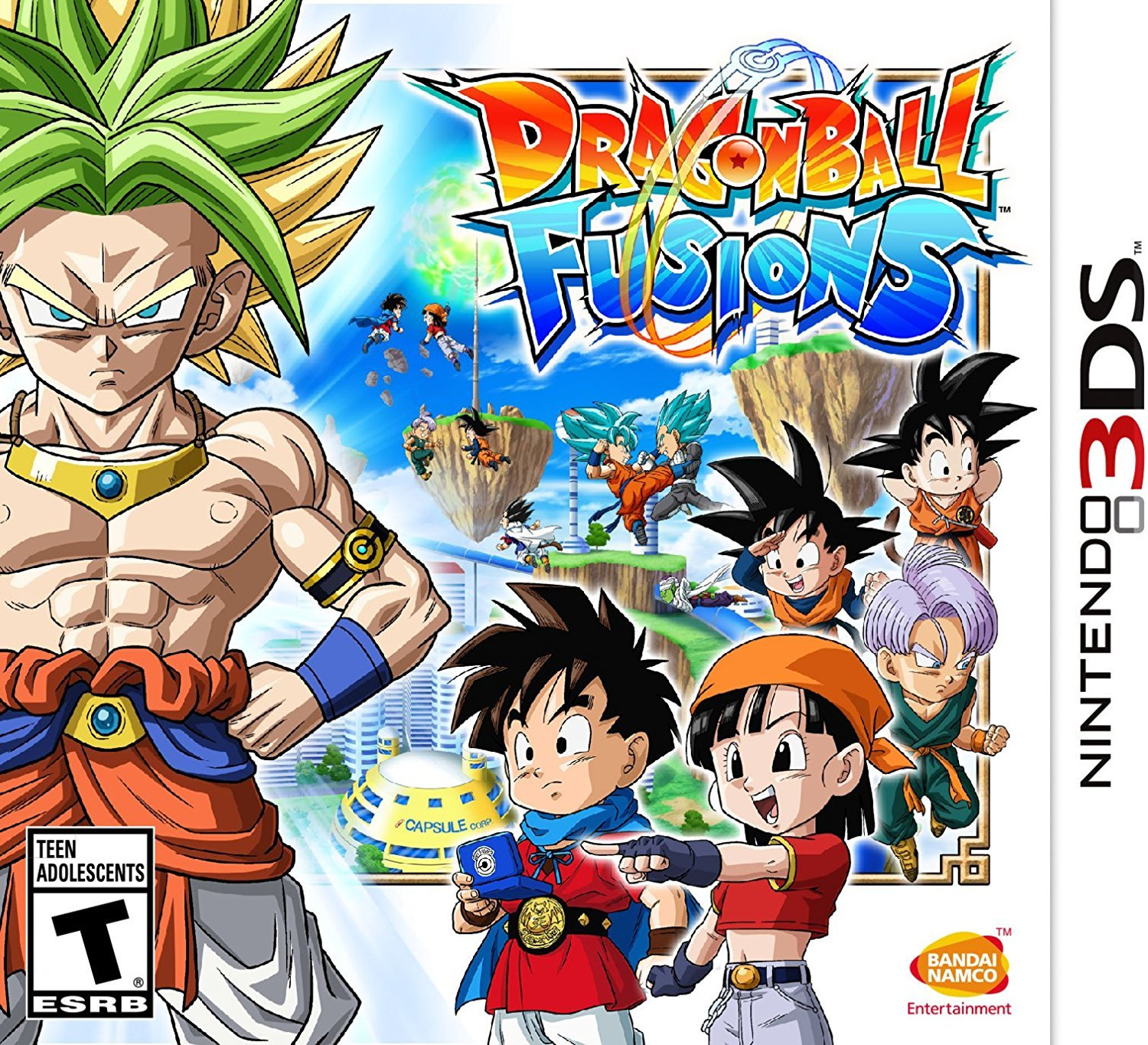 Dragon Ball Fusions (3DS) Review 1