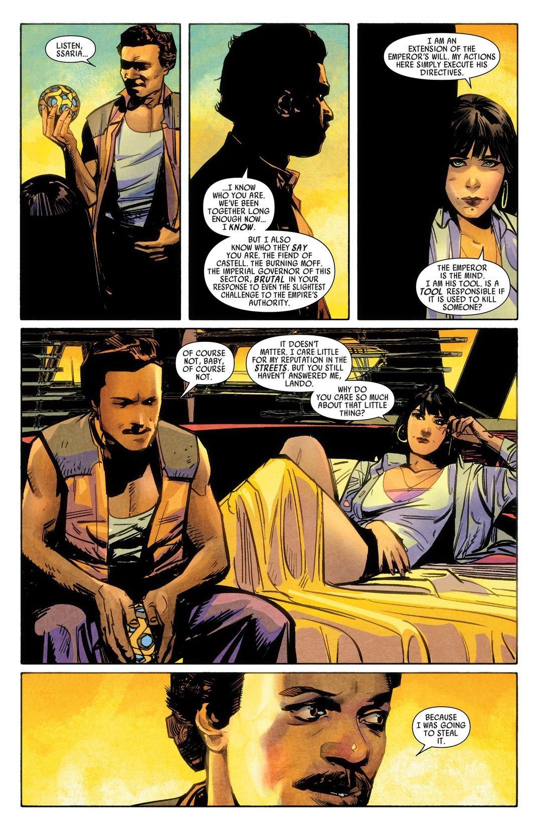 Lando #1-5 (Comic) Review 3