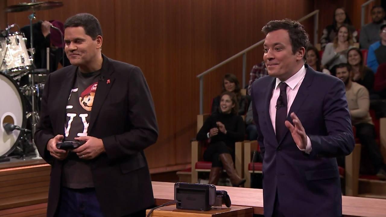 Live Nintendo Switch Gameplay Revealed on Jimmy Fallon 1