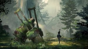 Nier: Automata: An Interview with Yosuke Saito  and Junichi Ehara