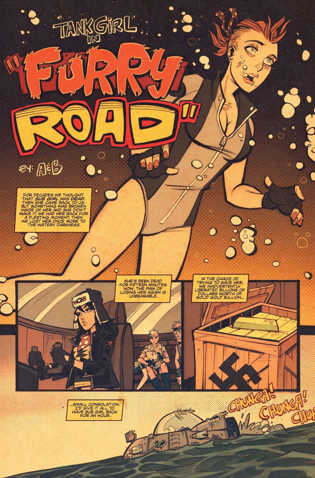 Tank Girl Gold #1 Furry Road (Comic) Review 3