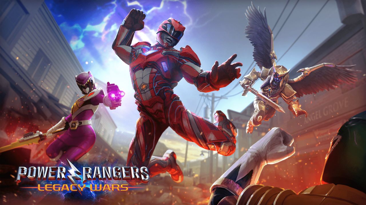 It's Morphin Time On Mobile With Power Rangers: Legacy Wars!