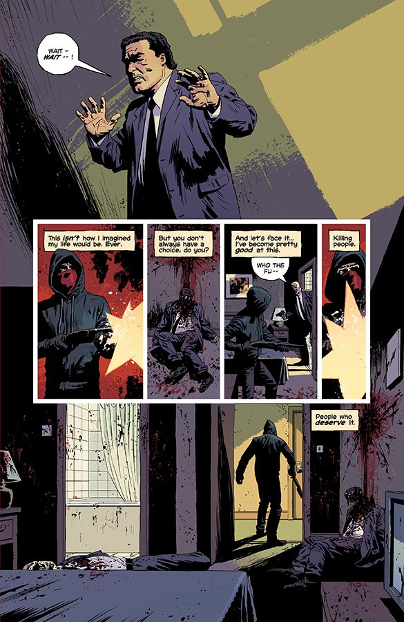 Kill Or Be Killed #1-4 (Comic) Review 4