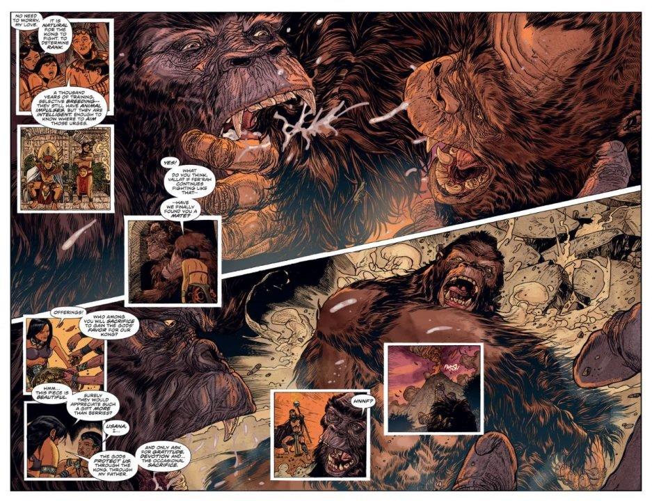 Kong Of Skull Island (Comic) Review 2