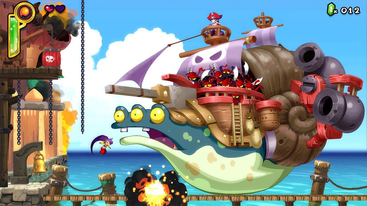 Shantae: Half-Genie Hero (PS4) Review 3