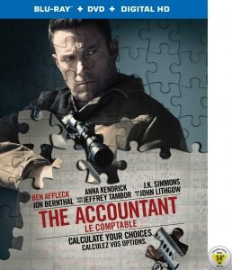 The Accountant Blu-ray Giveaway