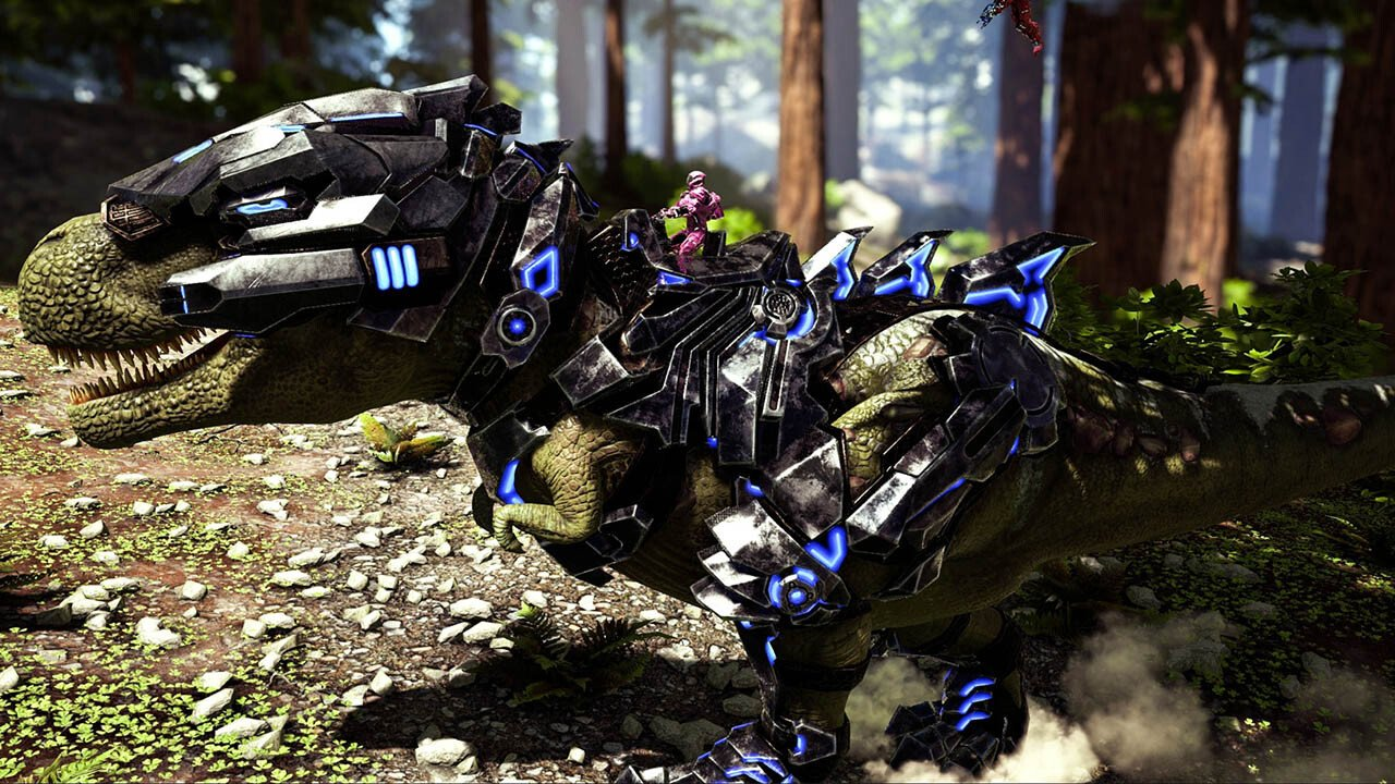ark survival evolved gets laser cannon dinos in new update