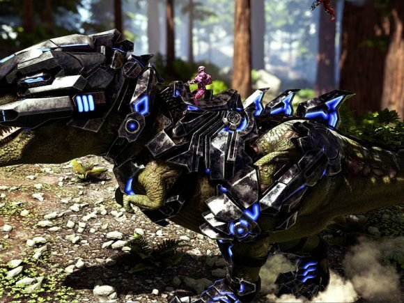 Ark: Survival Evolved gets Laser-Cannon-Dinos in New Update