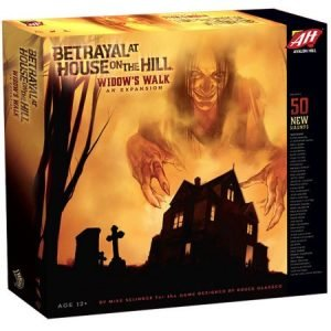 Betrayal at House on the Hill: Widow's Walk - Board Game Review 3