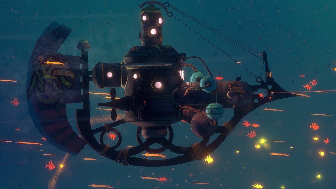 Diluvion Review - Dark Souls Underwater