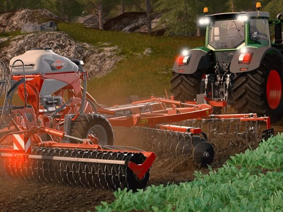 Farming Simulator 17 Recieves Kuhn Equipment Pack DLC