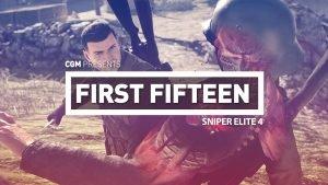 First 15: Sniper Elite 4