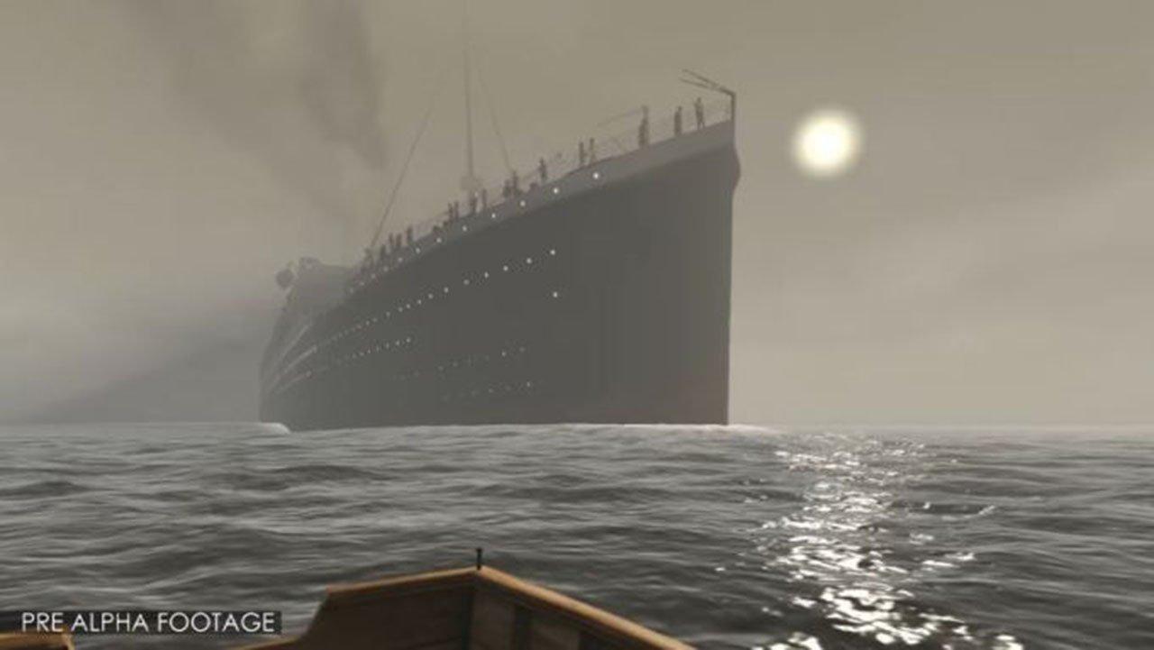 Titanic VR Experience Kickstarter Launches
